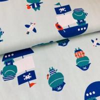 Ahoi Captain in Soft Blue Tricot