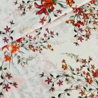 Digital Flowers In Soft Rose Viscose