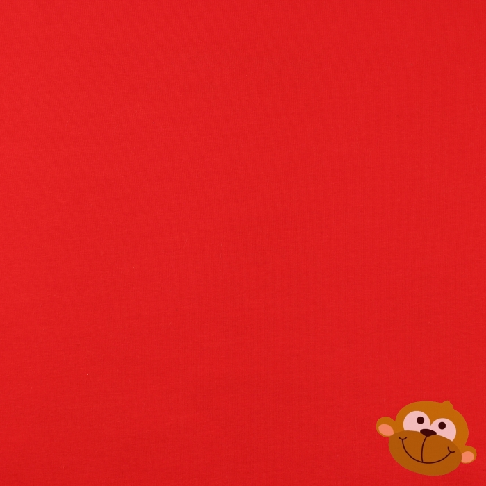 Effen Tricot Bright Red