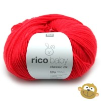 Breiwol Rico Baby Classic dk 50g Coral