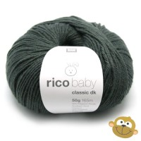 Breiwol Rico Baby Classic dk 50g Anthracite