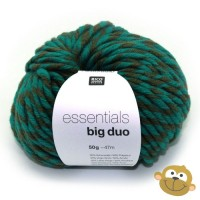 Breiwol Essentials Big Duo 50g Petrol Olive