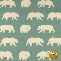 Bear Hike  In Mineral Canvas