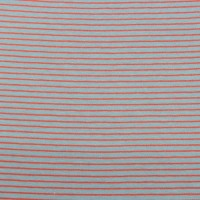 Red  Stripes  In Grey Mint Tricot