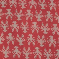 Lobster  In Bright Coral  Viscose