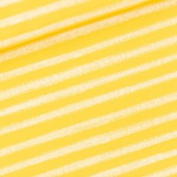 Chalk Stripes M In Habanero Yellow French Terry