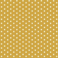 Petit Stars in Ochre Cotton
